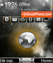 World 04 theme screenshot