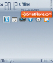 Gentle theme screenshot