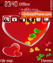 Hearts 06 theme screenshot
