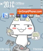 Cute Cat (MCC) es el tema de pantalla