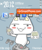 Cute Cat (MCC) theme screenshot