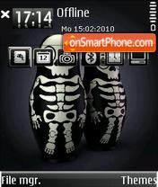Скриншот темы Mt Skeletons