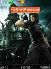 FF Crisis Core- Zack & Aerith theme screenshot