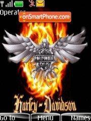 Harley Davidson theme screenshot