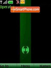 Black and Green theme screenshot