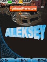 Aleksey Name theme screenshot