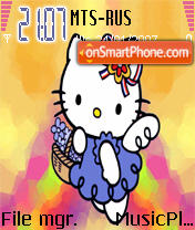 Hello Kitty 3 theme screenshot