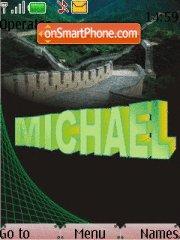 Michael Name theme screenshot