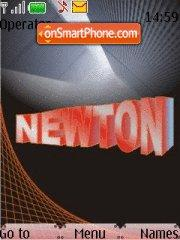 Newton Name theme screenshot