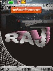Capture d'écran Raj Name thème