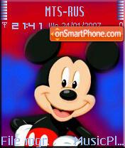 Mickey Mouse 3 es el tema de pantalla