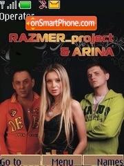 Arina razmer project theme screenshot