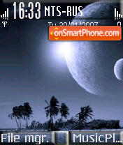 Moonlight tema screenshot