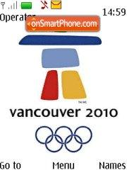 Vancouver Olympic 2010 theme screenshot