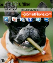 Doggi theme screenshot