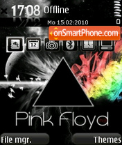 Скриншот темы Pink Floyd 02