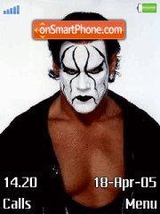 Sting (Wrestling) es el tema de pantalla