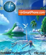 Island Beauty theme screenshot