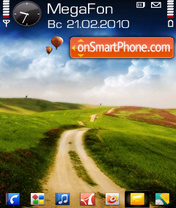Dirt Road by Altvic theme screenshot