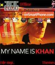 My Name Is Khan S60 theme screenshot