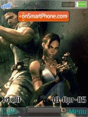 Resident Evil 5 theme screenshot