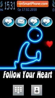 Follow Your Heart theme screenshot