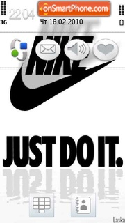 Скриншот темы Nike 17