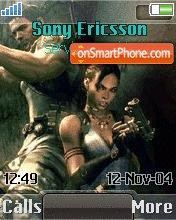 Resident Evil 5 v.1.1 theme screenshot