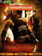 Скриншот темы Prince of Persia: The Sands of Time
