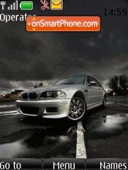 Bmw M3 With Tone Theme-Screenshot