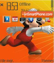Mario Orange3 es el tema de pantalla