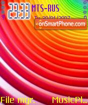Colours theme screenshot
