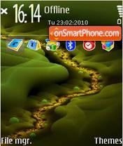 Fractal illusion theme screenshot