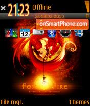 FoxFire theme screenshot