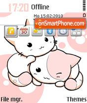 Capture d'écran Kagomi Sorano thème