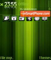 Greenstrip theme screenshot