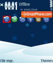 Lapy Land Without Santa theme screenshot