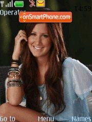 Ashley Tisdale theme screenshot