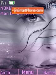 Lilac imagination theme screenshot