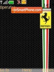 X-Ferrari theme screenshot
