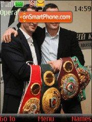 Klitschko (Klichko) brothers theme screenshot