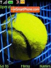 Tennis 06 es el tema de pantalla