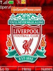 Red Liverpool theme screenshot