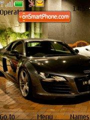 Audi R8 09 theme screenshot