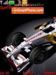 Force F1 theme screenshot