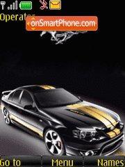 Black Mustang 01 tema screenshot