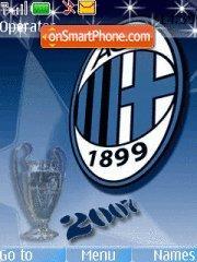 Milan 2010 tema screenshot