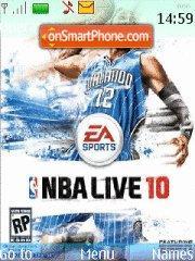NBA Live 10 theme screenshot