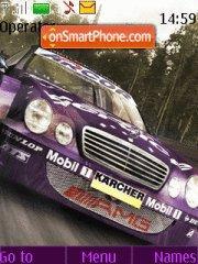 Скриншот темы Nfs Mercedes Benz