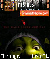 The Blair Shrek Project troll88 theme screenshot